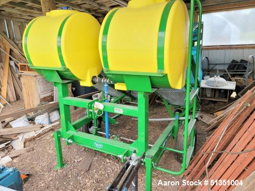 Used-Rain-Flo Model 1670 Series II Single Row Water Wheel Transplanter