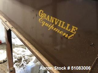 Used-Granville Equipment Hemp Flower Extractor