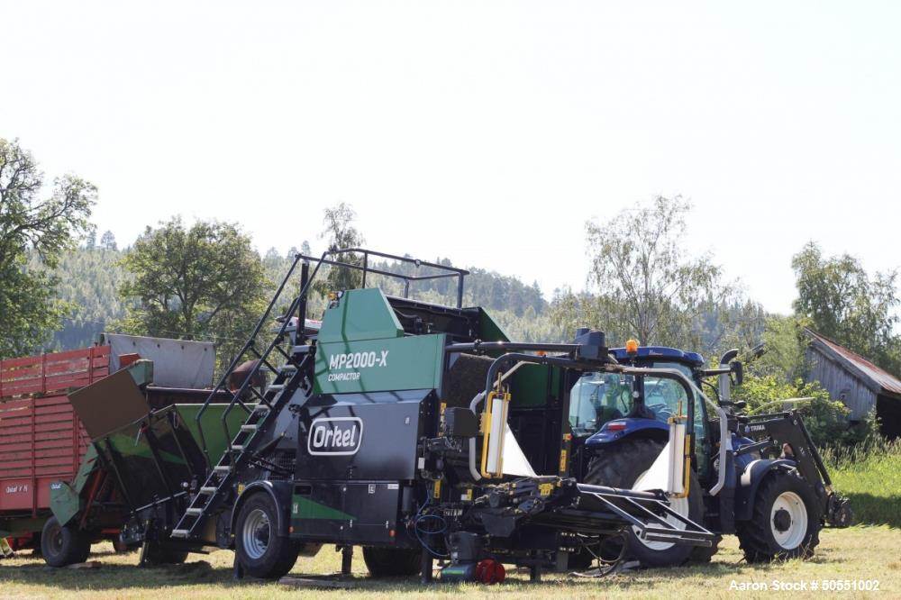 Used- Orkel Baler/Compactor for Cannabis and Hemp Production