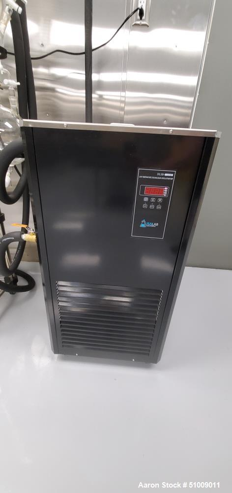 Used- USA Lab 10L Single Jacketed Reactor Turnkey System
