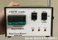 Used- J-Kem Digitial Vacuum Regulator