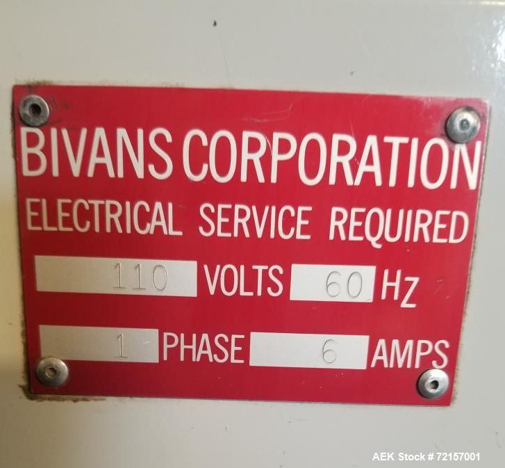 Used Bivans Vertical Cartoner For Cannabis Products