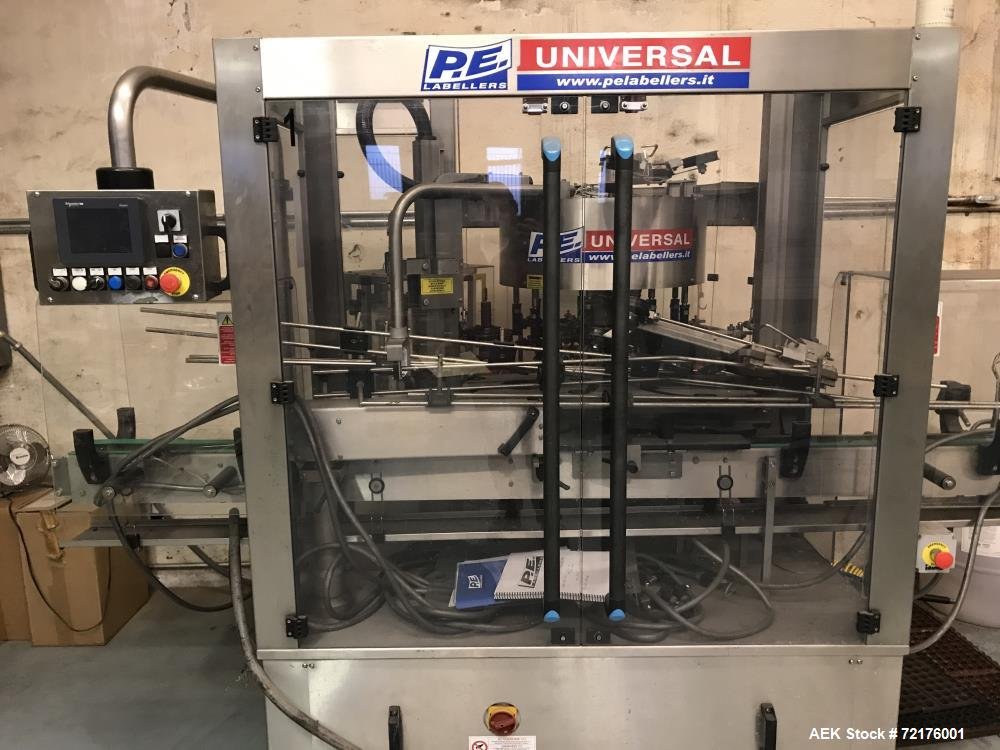 Used- PE Rotary Labeling System For Cannabis Products
