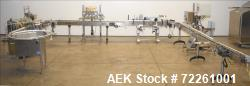 Used- Accutek 6 Automatic Vacuum Liquid Filling Line for Cannabis or Hemp Glass