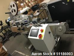 Used- Accutek APS-134 Horizontal Wrap Labeler