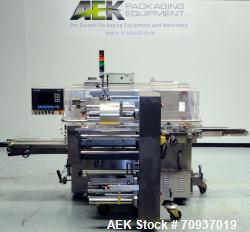 Used- BFB (IMA) Model AC-120 Diefold Carton Over Wrapper for Cannabis Products