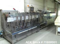 Used-Bossar B3000 Pouch Duplex Horizontal Form Fill Seal Machine For Cannabis