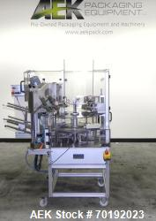 Used-Brunner VC Vertical Tuck Intermittent Motion Cartoner For Cannabis Products