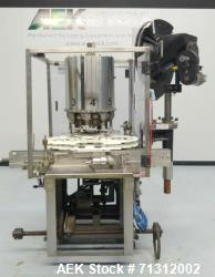 """Used-Consolidated Model TG8-15 """"CaPeM"""" Rotary Chuck Capper For Cannabis Products"""