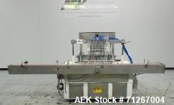 Used- Cozzoli Model VR-840-8 Inline Piston Filler For Cannabis Products