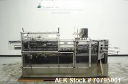 Used- Econocorp Model 6932 V-System Semi-Automatic Vertical Cartoner For Cannabi