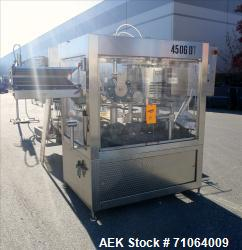 Used- GAI 6 Head Capper with Rotary Cap Placer For Cannabis Products, Model 4506