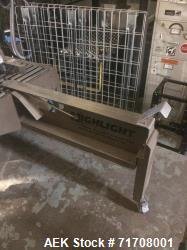 Used- Highlight Industries Magnum 4500 T-Table Case Former For Cannabis Products
