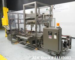 Used- K&R Model PBI Case Erector and Poly Bag Inserter For Cannabis Products