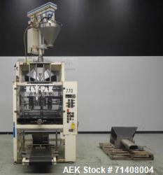 Used- Key Pack Model V400S Vertical Form Fill Seal Machine For Cannabis Products