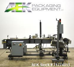 Used-Label Aire Front and Back Labeler/Carton Wafer Sealer For Cannabis