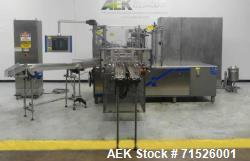 Used-Laudenberg Model PMP20 Duplex Pre-Made Pouch Packager For Cannabis Products