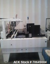 Used-Maxco ME-1600 Automatic Case Erector and Bottom Gluer For Cannabis Products