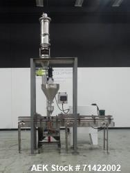 Used- Nalbach Model NAF-1000-D Powder Auger Filler For Cannabis Products