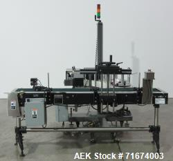 Used- New Jersey Machine Model 400R-0049 Print and Apply Labeler For Cannabis Pr