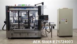 Used- P.E. Labeler Front and Back Rotary Pressure Sensitive For Cannabis and Hem