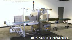 Used- Pester PAC Automation Model PEWO-Pack 450 Automatic Stretch Bander for Can