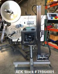 Used- Weber Tamp-Blow Print and Apply Labeler For Cannabis Products, Model 5300.