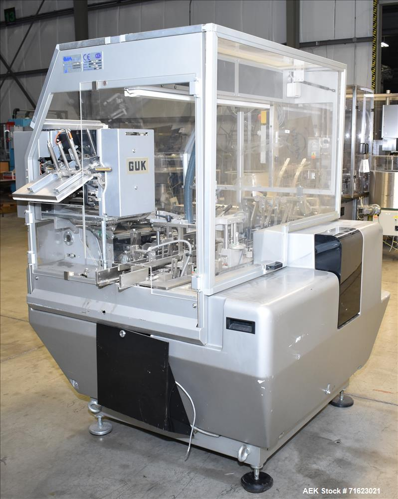 Used-CAM Model PMM Bottle Cartoner Packaging Machine for CBD and THC Oil