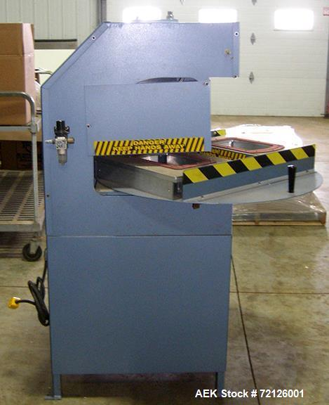 Used- Starview Rotary Blister Sealer For Cannabis Products, Model MR2 14X18.