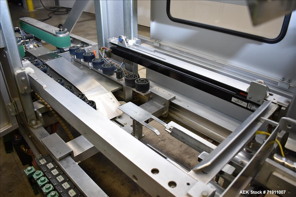 Used- Wexxar Model ABF-T Automatic Case Erector and Bottom Tape Sealer For Canna