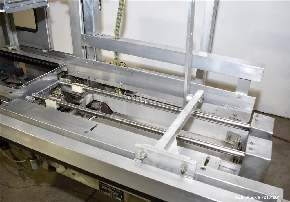 Used- Wexxar Case Erector with Tape Bottom Seal For Cannabis Products, Model WFH