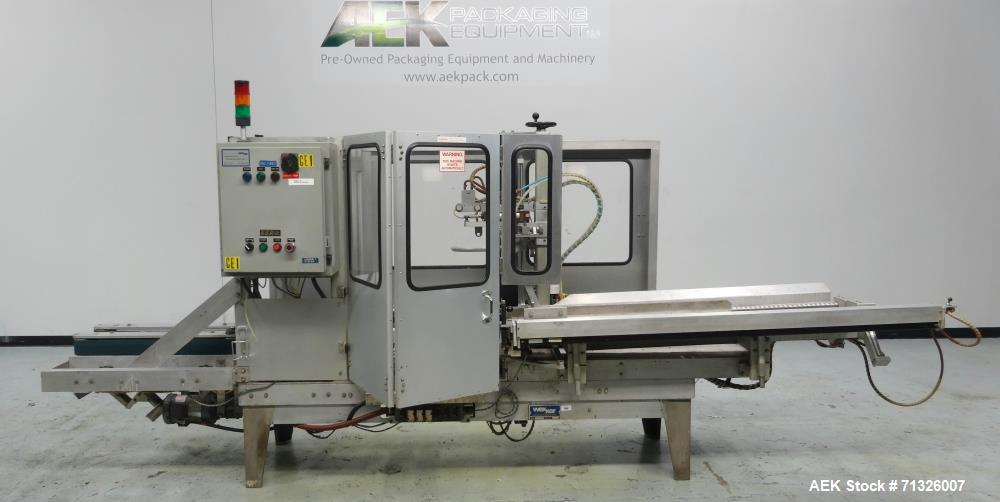 Used- Wexxar Model WFT-JR Automatic Case Erector and Bottom Sealer For Cannabis