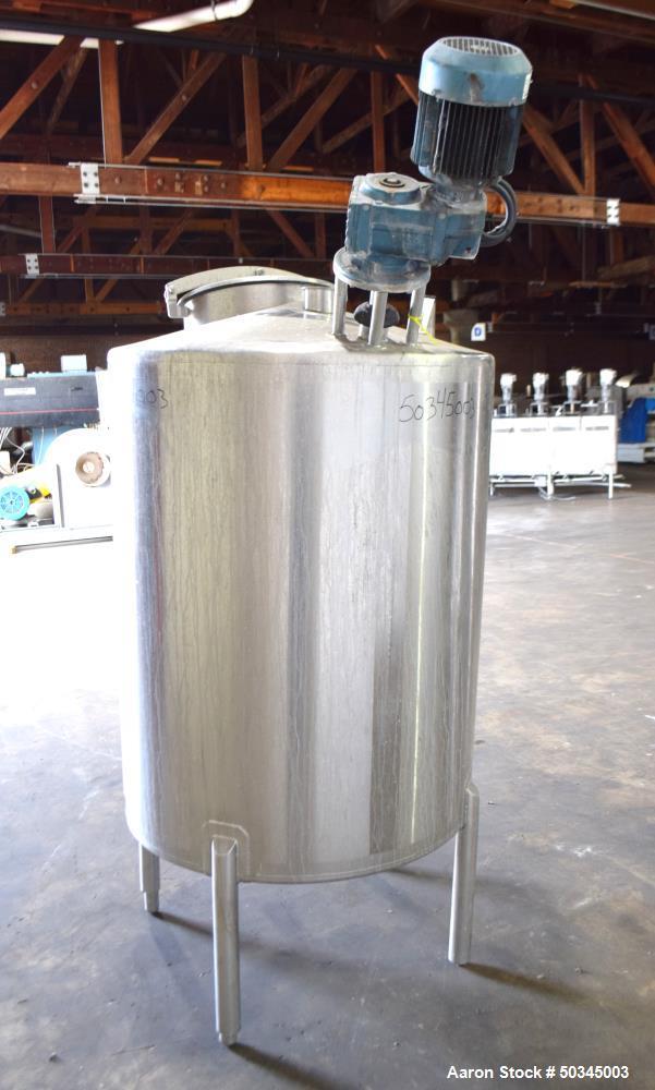 Used- APT Advanced Process Technology CBD and Hemp Tank, 200 Gallon, Stainless S