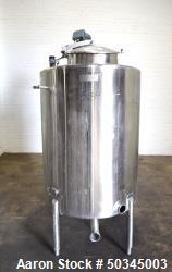Used- APT Advanced Process Technology CBD and Hemp Tank, 200 Gallon, Stainless S