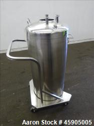 Used- Alloy Products Pressure Tank, 30 Gallon, 316 Stainless Steel
