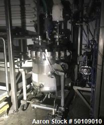 Used- Apache Stainless CBD and Hemp Pressure Tank with Agitation, 100 gallon,