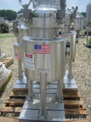 Used-DCI Approximately 50 Liter Stainless Steel Reactor.