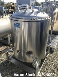 Used- 100 Gallon Stainless Steel DCI Reactor