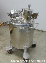 Used- Lee Industries Pressure Mix Tank, 200 Liter, Model 200 LDBT