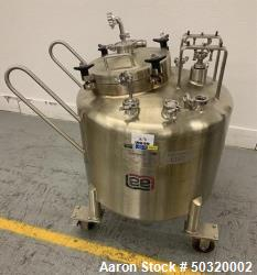 Cannabis Vessel Used- Lee Industries Pressure Mix Tank, 250 Liter, Model 250 LDB