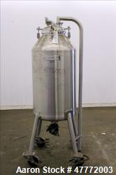 Used- Mueller CBD and Hemp Pressure Tank, 250 Liter(66.04 Gallon), 316 Stainless