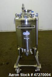 Used- Stainless Steel Technology Pressure Tank, Approximate 32 Gallon (120 Liter