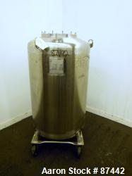 Used- 400 Liter Stainless Steel CBD and Hemp Walker Stainless Pressure Tank