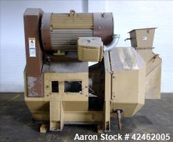 Used- Carbon Steel Bliss Industries Pioneer Pellet Mill for Hemp Processing