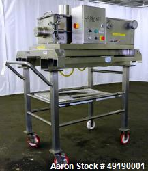 Used- Frewitt MF Oscillating Granulator, Model MF-6, 316 Stainless Steel.