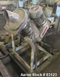 Used- Stainless Steel Rietz Disintegrator, Model RP-6-K115,