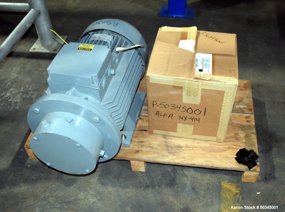 "Used- Alfa Laval NX-414 ""Semi-Sanitary"" Decanter CBD & Hemp Centrifuge"