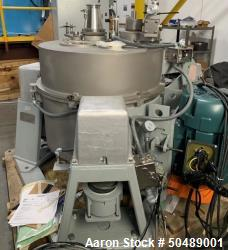 Used- Western States Basket Cannabis and Hemp Centrifuge, Model QC-120.
