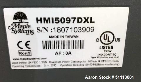 "Used- Delaval ATM 48"" x 30"" Perforated Basket Centrifuge"