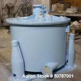 """Reconditioned- Delaval/ATM 48"""" x 30"""" Perforated Basket Centrifuge"""